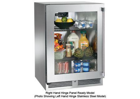 """Perlick 24"""" Overlay Glass Door Signature Series Indoor Refrigerator - HP24RS-3-4R"""