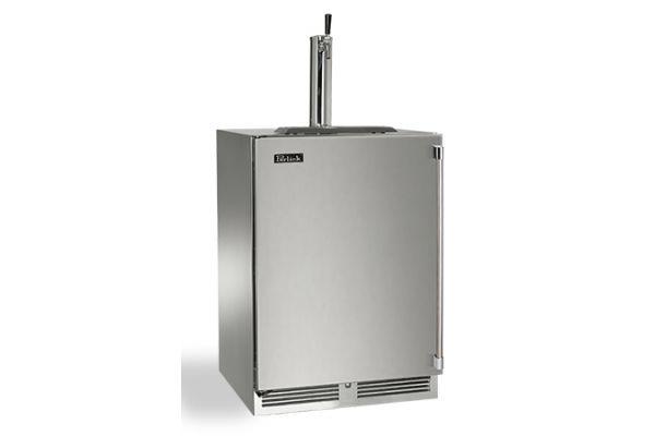 "Perlick 24"" Stainless Steel Signature Series Indoor Beer Dispenser - HP24TS-3-1L1"
