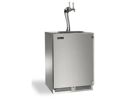"Perlick 24"" Stainless Steel Signature Series Adara Beer Dispenser - HP24TS-3-1L2A"