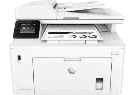 HP LaserJet Pro White Wireless Printer - G3Q75A#BGJ