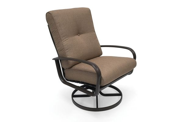 Large image of Winston Furniture Savoy Linen Sesame Ultra Swivel Tilt Lounge Chair - HQ24020