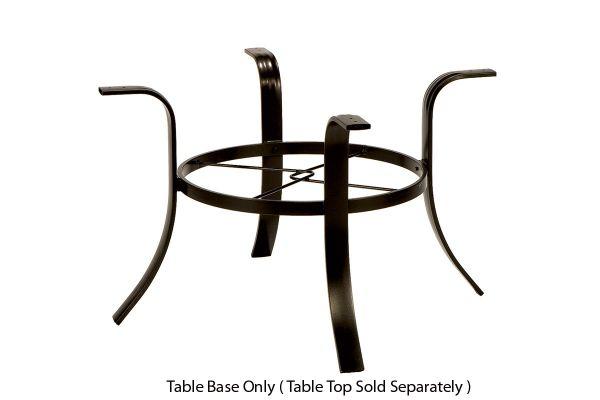 "Large image of Winston Furniture 48"" Round Java Dining Base - HQ9348BJAV"
