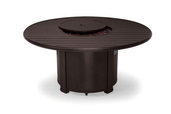 "Large image of Winston Furniture 54"" Slat Top Java Fire Pit - HQFP054JAV"