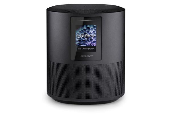 Large image of Bose Triple Black Home Speaker 500 With Amazon Alexa - 795345-1100
