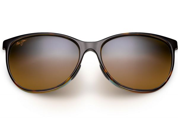 Large image of Maui Jim Ocean Tortoise with Peacock Womens Sunglasses - HS723-10P