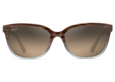 Maui Jim Honi Sandstone With Blue Polarized Womens Sunglasses - HS758-22B