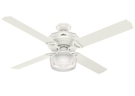 "Hunter Brunswick 60"" Fresh White Ceiling Fan - HTR54176"