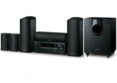 Onkyo Black 5.1.2 Channel Dolby Atmos Home Theater System - HT-S5800