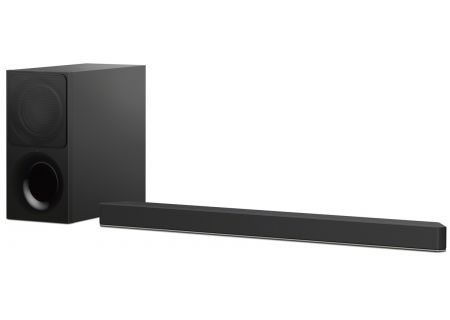 Sony Black 2.1 Dolby Atmos Sound Bar With Bluetooth - HT-X9000F