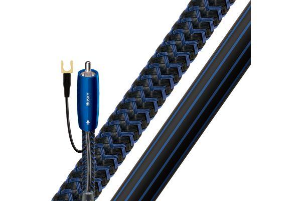 AudioQuest 26.3 Feet Husky RCA To XLR Subwoofer Cable - HUSKY8MRCA2XLR