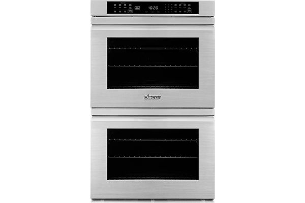 """Large image of Dacor Professional 27"""" Stainless Steel Flush Style Double Wall Oven - HWO227FS"""
