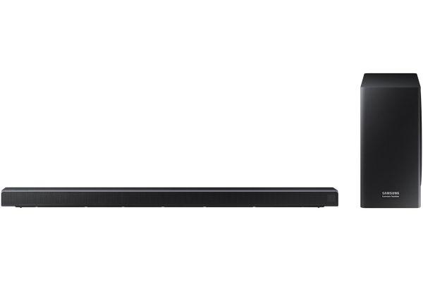 Large image of Samsung Black 3.2 Channel Soundbar With Dolby Atmos - HW-Q70R/ZA