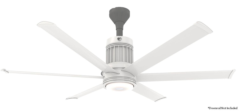Big Ass Fans I6 60 Ceiling Fan I6in60whtflush0 10v