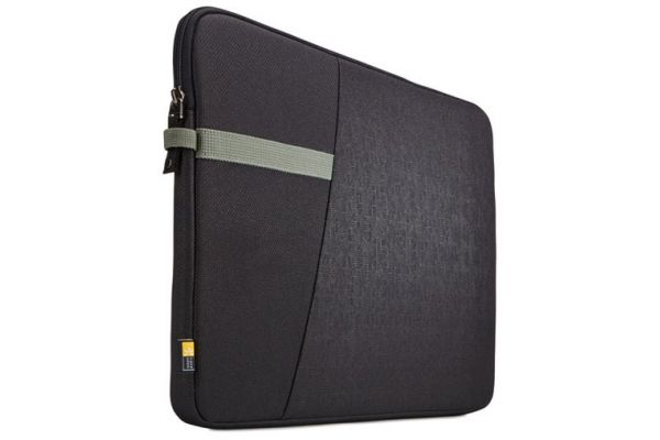 "Large image of Case Logic Ibira 13.3"" Black Laptop Sleeve - 3204390"