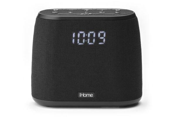 Large image of iHome Bluetooth Dual Alarm FM Clock Radio - IBT234