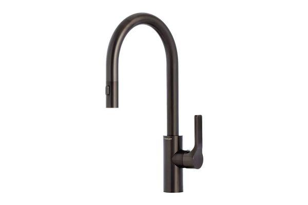 The Galley Satin Black Kitchen Faucet Ibtdbss Abt