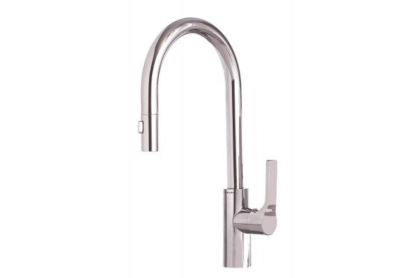 Large image of The Galley Ideal BarTap Polished Stainless Steel Kitchen Faucet - IBT-D-PSS