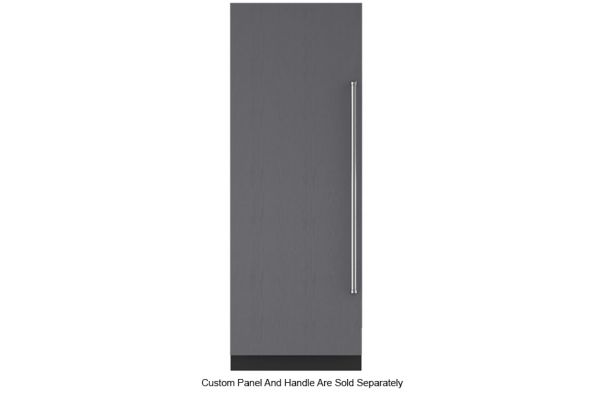 "Large image of Sub-Zero 30"" Panel Ready Left-Hinge Designer Column Refrigerator With Internal Dispenser - IC-30RID-LH"
