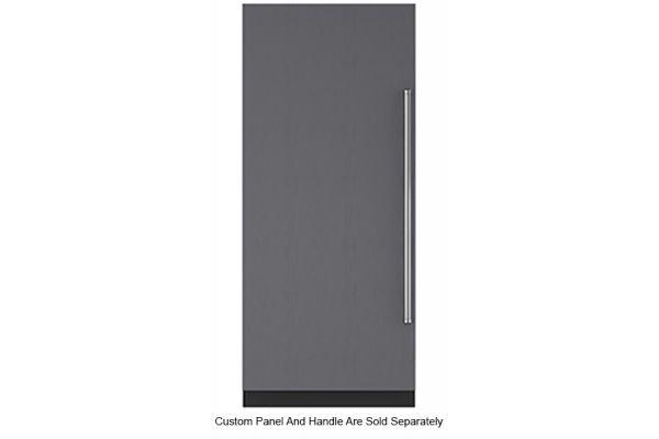 """Large image of Sub-Zero 36"""" Panel Ready Left-Hinge Designer Column Freezer With Ice Maker - IC36FILH"""