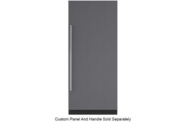 "Large image of Sub-Zero 36"" Panel Ready Right-Hinge Designer Column Freezer With Ice Maker - IC36FIRH"