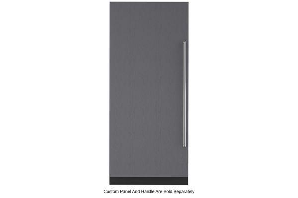 "Large image of Sub-Zero 36"" Panel Ready Left-Hinge Designer Column Refrigerator With Internal Dispenser - IC-36RID-LH"