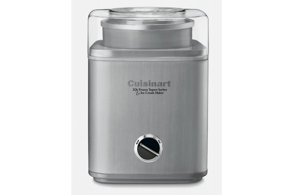 Large image of Cuisinart Pure Indulgence 2 Qt. Frozen Yogurt-Sorbet & Ice Cream Maker - ICE30BCP1