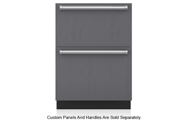"Large image of Sub-Zero 24"" Panel Ready Refrigerator Drawers - ID-24R"