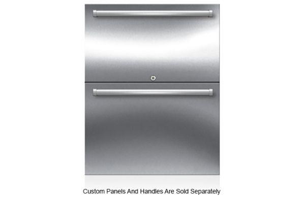 "Large image of Sub-Zero 24"" Panel-Ready Outdoor Refrigerator Drawers - ID24RO"