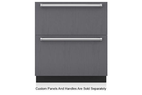 """Large image of Sub-Zero 30"""" Panel Ready Refrigerator/Freezer Drawers - ID-30C"""