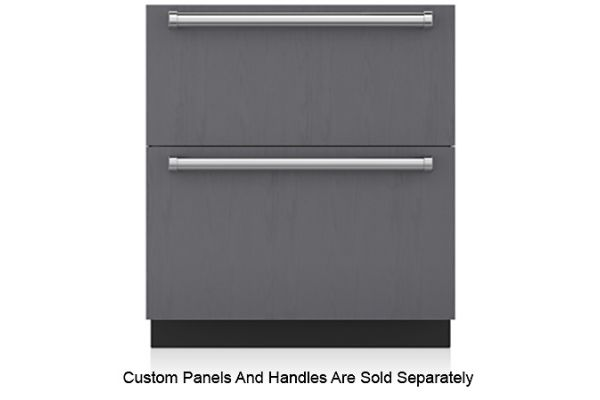"Large image of Sub-Zero 30"" Panel Ready Refrigerator Drawers - ID-30R"