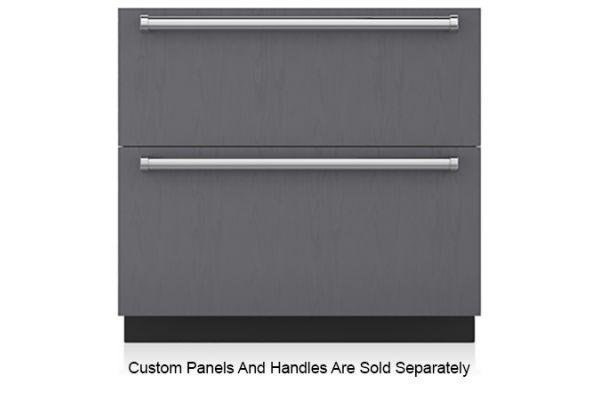 "Sub-Zero 36"" Panel Ready Integrated Double Drawer Refrigerator And Freezer - ID-36C"