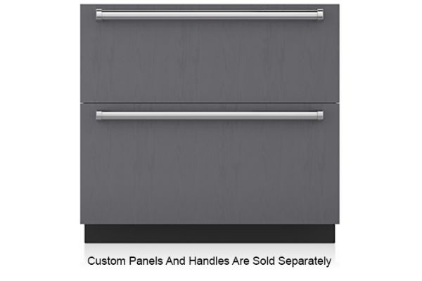 "Sub-Zero 36"" Panel Ready Integrated Double Drawer Refrigerator And Freezer - ID-36CI"