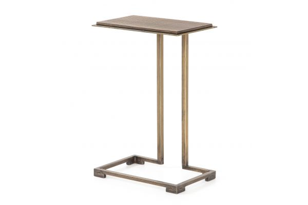 Large image of Four Hands Element Collection Acid Etch C Table - IELE-88