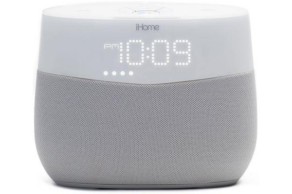 iHome Google Assistant Built-In Bedside Speaker System - IGV1