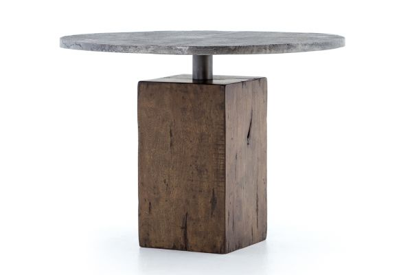 Large image of Four Hands Hughes Collection Boomer Bistro Table - IHRM-059