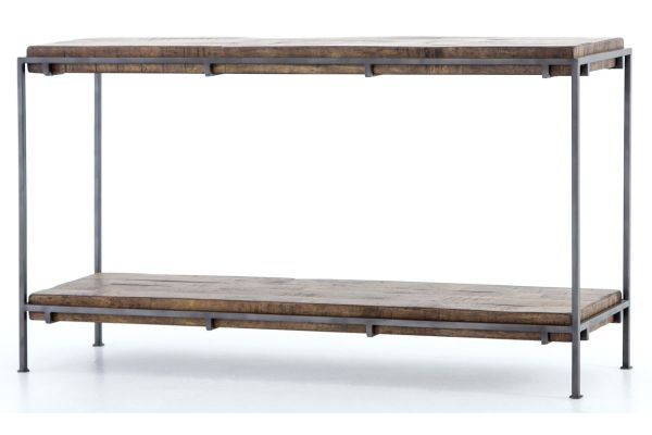 Large image of Four Hands Gunmetal Brass Simien Console - IHRM-072