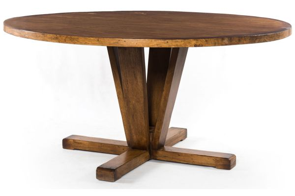 Large image of Four Hands Harmon Collection Cobain Dining Table - IHRM-083