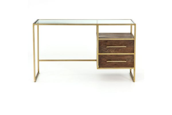 Large image of Four Hands Harmon Collection Riverside Desk - IHRM-114A