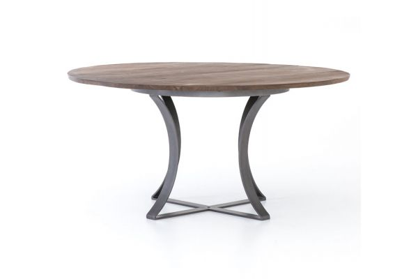 Large image of Four Hands Harmon Collection Gage Dining Table - IHRM-128A