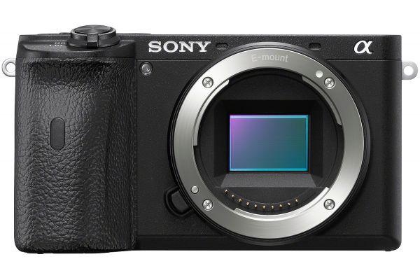 Large image of Sony Alpha a6600 24.2 Megapixel Black Mirrorless Digital Camera Body - ILCE6600/B