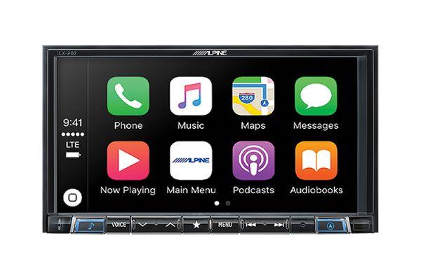 """Alpine 7"""" Mech-Less AV Receiver - ILX-207"""