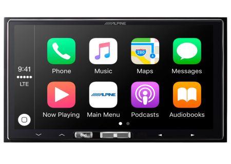"Alpine 7"" In-Dash Digital Media Receiver With Apple CarPlay - ILX-107"
