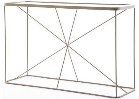 Four Hands Marlow Collection Lucas Console Table - IMAR-109-BRS