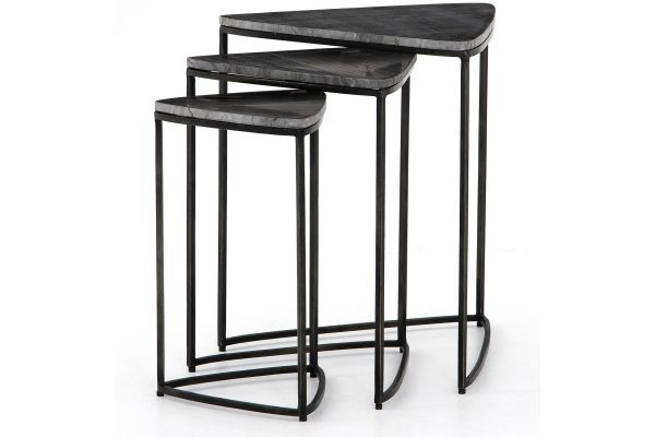 Large image of Four Hands Marlow Collection Raine End Tables - IMAR-229B
