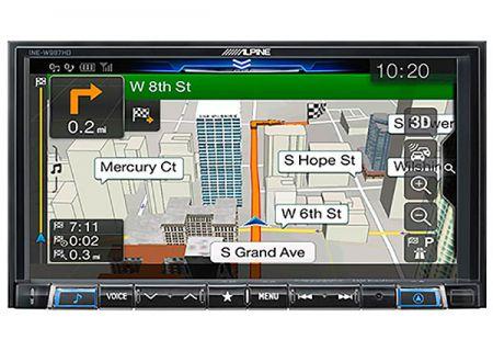 "Alpine 7"" Mech-Less Navigation Receiver - INE-W987HD"