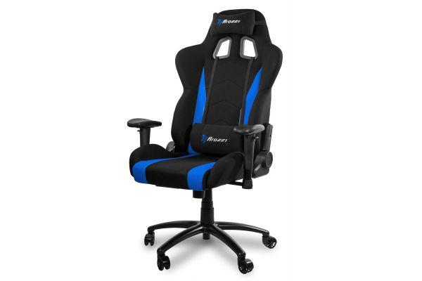 Arozzi Blue Inizio Fabric Gaming Chair - INIZIO-FB-BLUE