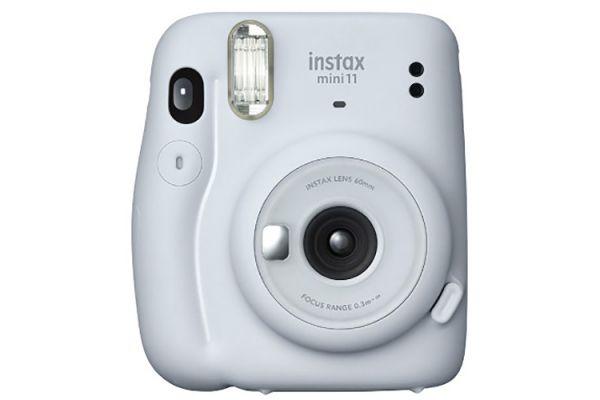 Large image of Fujifilm Instax Mini 11 Ice White Instant Camera - 16654798 & 7542