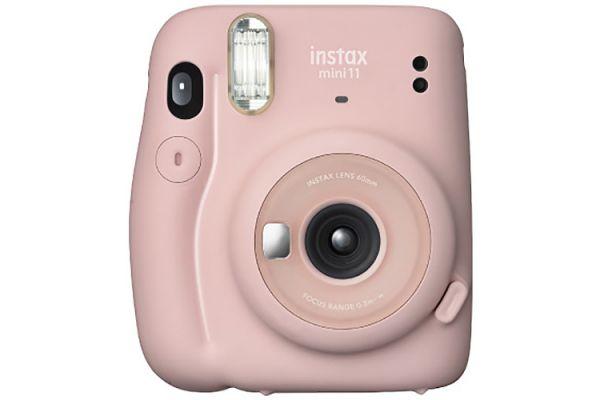 Large image of Fujifilm Instax Mini 11 Blush Pink Instant Camera - 16654774 & 7528