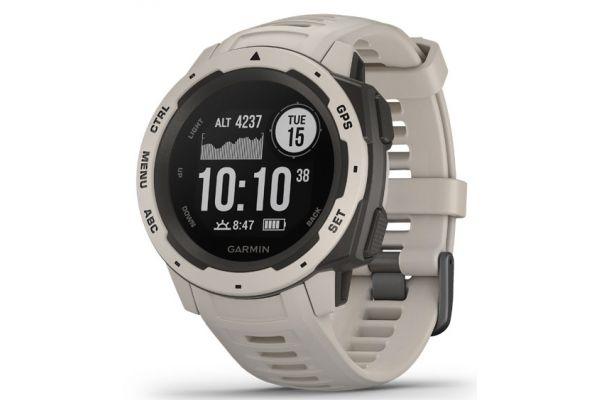 Large image of Garmin Instinct Tundra Rugged GPS Smartwatch - 010-02064-01