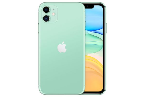 Large image of Apple 128GB Green iPhone 11 Cellular Phone - MWJ52LL/A & 6150C